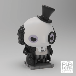 Free 3D printer designs Penguin '92 (Batman Returns), purakito