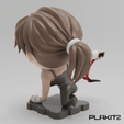Download free 3D printing files Tomb Raider Lara Croft (PlaKit2 Series), purakito