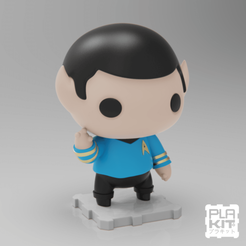 Download free 3D printer files Star Trek SPOCK, purakito