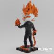Free 3D printer model Ghost Rider (Agents of SHIELD Version), purakito