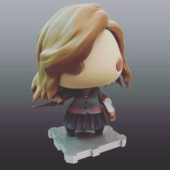 Free stl HarryPotter Hermione Granger, purakito