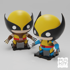 Download free 3D printer model Marvel Classics Wolverine Double Pack! 90s and Retro [UPDATED], purakito
