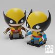 Descargar archivos 3D gratis Paquete doble de Wolverine de Marvel Classics! 90s y Retro[ACTUALIZADO], purakito