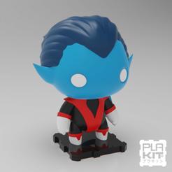 Impresiones 3D gratis X-MEN Nightcrawler, purakito