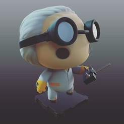 Free 3d model Back To The Future Marty & Doc Brown Pack, purakito