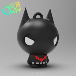 Free 3D printer designs Batman Beyond (MicroPlaKit Series), purakito