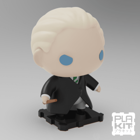 Plan imprimante 3D gatuit Le malefoy Draco de Harry Potter, purakito