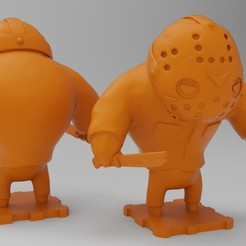 Free 3D print files Friday The 13th JASON VOORHEES, purakito
