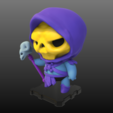 Imprimir en 3D gratis Skeletor (Maestros del Universo), purakito