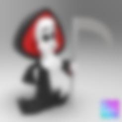 Imprimir en 3D gratis GRIM REAPER (Las sombrías aventuras de Billy y Mandy), purakito