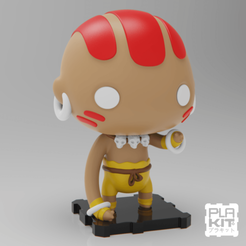Free 3D printer model Street Fighter DHALSIM, purakito