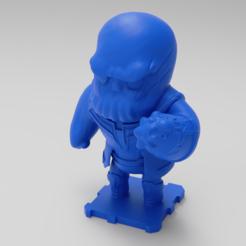 Download free 3D printing designs THANOS, purakito