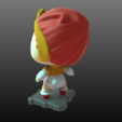 Download free 3D printer files Teela (Masters of the Universe), purakito