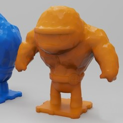 Download free 3D printer model Fantastic4 The Thing, purakito