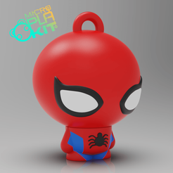 Free STL files Spider-Man (MicroPlaKit Series), purakito
