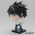 Free 3D print files Death Note 'L', purakito