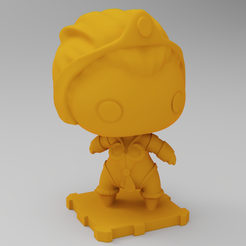 Free 3D printer model Teela (Masters of the Universe), purakito