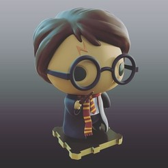 Free stl file Harry Potter!, purakito