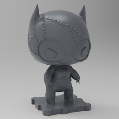 Free 3D print files Catwoman 1992 (Batman Returns), purakito