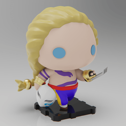 Download free 3D printing templates Street Fighter VEGA (Masked & Unmasked Versions), purakito