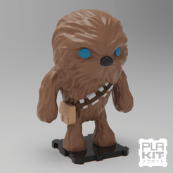 Download free 3D model StarWars Chewbacca, purakito