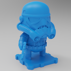 Free 3D printer model Star Wars StormTrooper!!!, purakito