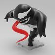 Imprimir en 3D gratis VENOM (Versión Solo), purakito
