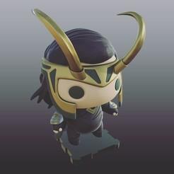 Free 3d printer model Loki (Thor Ragnarok), purakito