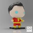 Télécharger plan imprimante 3D gatuit DC Shazam !, purakito