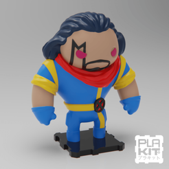 Free 3D printer model X-Men BISHOP, purakito
