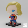 Descargar modelo 3D gratis Capitán Maravilla (MCU), purakito
