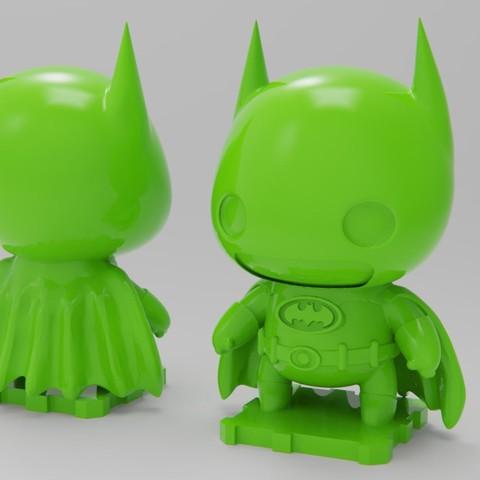 Descargar modelo 3D gratis Batman '89 Versión de la película, purakito