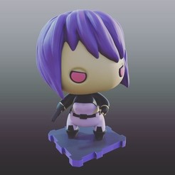 Free 3d model Ghost In The Shell  Motoko (Stand Alone Complex), purakito