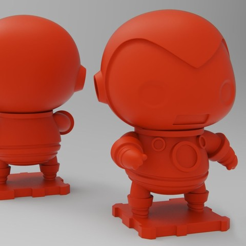 Download free 3D printing files Marvel Classics Iron Man, purakito