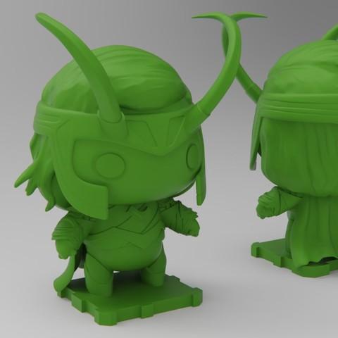 Descargar modelo 3D gratis Loki (Thor Ragnarok), purakito
