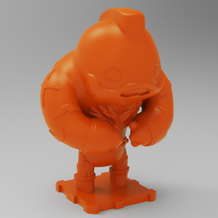 Free 3D printer files Street Fighter ZANGIEF, purakito