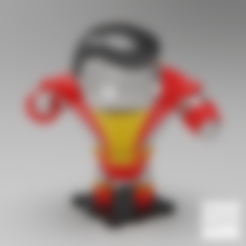 Free 3D printer files X-MEN 90s COLOSSUS, purakito