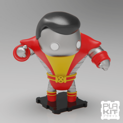 Free 3D printer files X-MEN 90s COLOSSUS, purakito