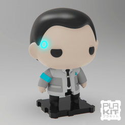 STL gratuit Detroit Become Human CONNOR, purakito