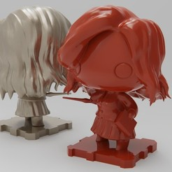 Download free 3D printer designs HarryPotter Hermione Granger, purakito