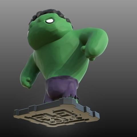 purakito free 3d printer files marvel the hulk purakito