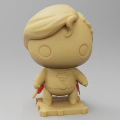 Free 3D print files Superman Classic!, purakito