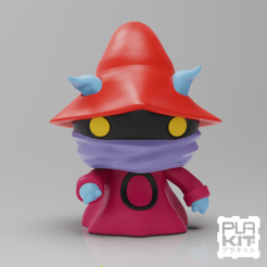 Free 3D printer model Orko (Masters Of The Universe), purakito