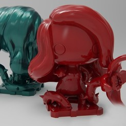 Free 3D printer designs DC Poison Ivy, purakito