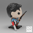 Free 3D printer model Evil Dead ASH, purakito
