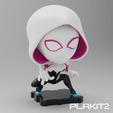 Descargar diseños 3D gratis Spider-Gwen (Serie PlaKit2), purakito