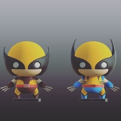 Free 3d model Marvel Classics Wolverine Double Pack! 90s & Retro, purakito