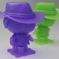 Free 3D print files Red Dead Redemption 2: Arthur Morgan, purakito