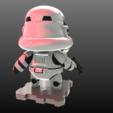 Descargar archivos STL gratis ¡¡¡Star Wars StormTrooper!!!!, purakito