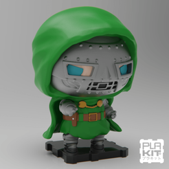 Free 3D printer model Doctor DOOM, purakito